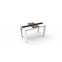 河南32寸智能点餐桌液晶显示器简约现代xf-32无人餐厅智慧点餐白色台智慧餐饮自助用餐系统