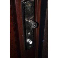 上海星月神防盗门门中门锁小门锁不上打不开维修