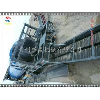 苏里南移动选金车(东威DW-GM100型) 也即100m3/h处理能力的沙金选矿设备