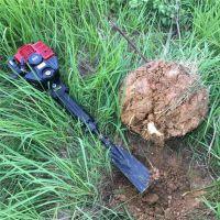 铲头式苗圃起树机 断根移苗机视频 小型果树移栽机价格