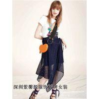 深圳品牌折扣女装尾货春夏货源正在热售欢迎订货