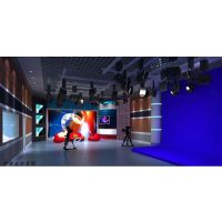 虚拟演播室需要多少屏幕搭建,全国虚拟演播室工程案例