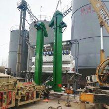 [都用]建筑公司砂石提升机 颗粒物料斗式上料机 农场水稻斗式提升机