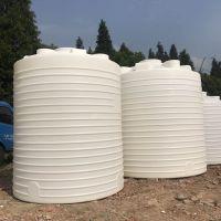 菏泽8吨圆柱塑胶罐8000L外加剂母液储罐