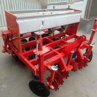 山东四轮拖拉机带谷子播种机价格 优质小型播种机 启航河南汽油小颗粒谷子精播机