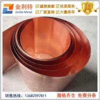 销售软态0.1mm紫铜箔 进口紫铜箔