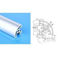 铝型材生产厂家圆弧型3030铝材设备防护罩型材直销