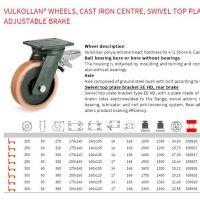 万向轮,进口脚轮,适用于agv叉车,各大汽车生产线上