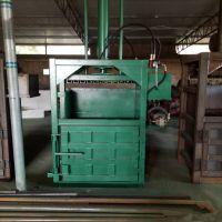 富兴牌空油桶压饼机 废油漆桶压扁机 下角料液压打包机报价