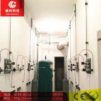河北省诚欣承接各种不锈钢工业气体管道工程 实验室管路施工程 氮气管道工程