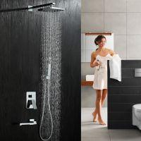 绮美斯多功能暗装嵌入墙式淋浴龙头花洒套装冷热全铜水龙头喷头混水阀器