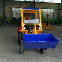 厂家直销家用小铲车ZL06小四轮装载机单缸志成22马力小四轮农用车