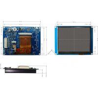 3.5寸带触摸串口液晶显示器