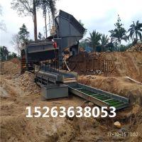 河沙选金机械、沙金提取选金设备、滚筒筛采金机