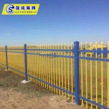 清远产业园防护栏定制 中山景区隔离栏杆厂家 锌钢护栏现货