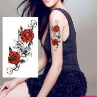定制纹身贴 个性化定做成人纹身贴纸防水 水转印贴纸厂家