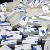 深圳市厂家直销透明硅胶垫片 耐高温3m单面背胶防滑减震硅胶垫