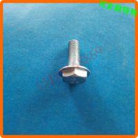高强度六角头螺丝定做 带垫片六角头螺丝定做 M34567891012