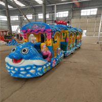 郑州格林游乐设备专业生产型好玩的无轨火车