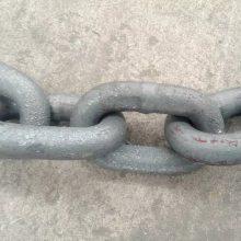 延吉MA国标锻造34mm矿车用三环链,矿用圆环链条厂家报价