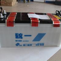 统一N150蓄电池6QA-294min蓄电池12v150ah汽车蓄电池145G51统一全系列