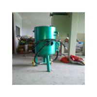 乐清加压开放式喷砂罐 手动小型喷砂机多少钱一台