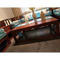 东阳和谐红木厂家直销 刺猬紫檀乐禅新中式10件套沙发