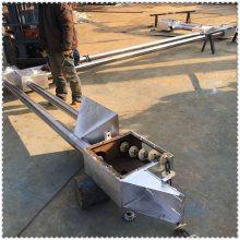 兴亚爬坡式链板输送机 倒袋站专用设备 来图定做 不锈钢管链输送机