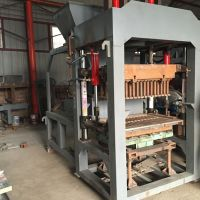 供应水泥砖机 郑州漫星机械设备液压大型水泥砌块砖机