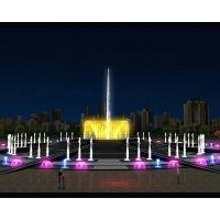 唐山音乐喷泉工程施工 小区绿化准定位 唐县喷泉新创意