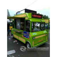 早餐亭独具特色,吸引眼球独具特色的中瀚可移动小吃车