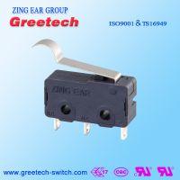 ZING EAR G6 10A小型通用型 燃气灶烤箱微波炉家电微动开关认证欧姆龙ULCUL