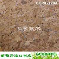 厂家新款推存 箱包专用面料 烫银真木纹 软木布137CM CORK-128A#
