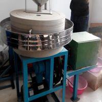 石磨粮食机械设备 米面天然原石打造 家用电动石磨面粉机