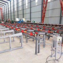 数控钢筋锯切套丝生产线KJ-450|全自动钢筋锯切镦粗套丝打磨生产线