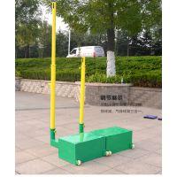 广西南宁市羽毛球柱 崇左气排球柱价格(通用型) 飞跃体育