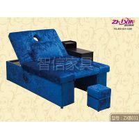 足疗店专用按摩床订做足疗沙发