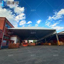 大型工厂厂房与库房之间是否可以连接雨棚 布 消防有问题吗