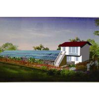 园区规划,温室大棚施工,生态餐厅建设