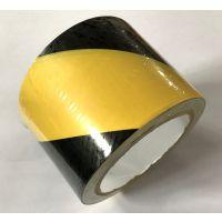 永乐牌直销-黄/黑双色警示胶带22m空白纸芯 贴地标记地板胶