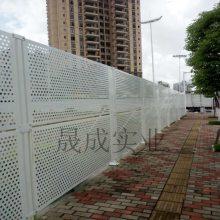 江门冲孔围栏 工地穿孔镀锌钢板 横琴围墙冲孔板现货 圆孔围挡