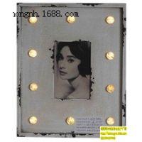 LED木制相框、带灯相框、发光发亮相框、带灯像框、木制带灯相框