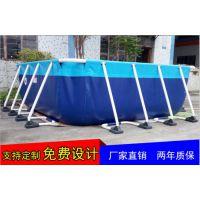 工厂供应支架游泳池 不锈钢支架游泳池什么价 移动组合支架游泳池动漫乐园