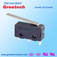 ZING EAR G6 5A小型通用型 水泵玩具电动 家电微动开关认证欧姆龙ULCULENEC