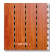 无纺布复合木质吸音板,防火无纺布复合,木质穿孔吸音板