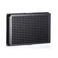 Greiner PS,384孔板F底,黑色,底透,高结合力,灭菌,无盖 货号:781097