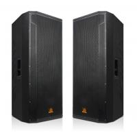 狮乐专业双十五寸舞台音箱 大型会议室木质箱 户外演出大功率音响