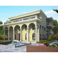 景德镇别墅设计AT1613三层复式俄罗斯风格平顶豪华别墅设计图纸13.8mx17.7m