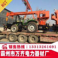 东风1104拖拉机挖坑立杆两用机厂家直供 质保18个月