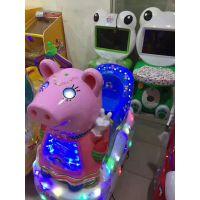 电玩娱乐托马斯坦克摇摇车 炫彩灯光摇摆机 电动潜水艇熊摇摆机直销特惠